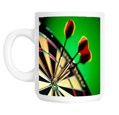 Cible de fléchettes darts joueur cadeau mug shan 756