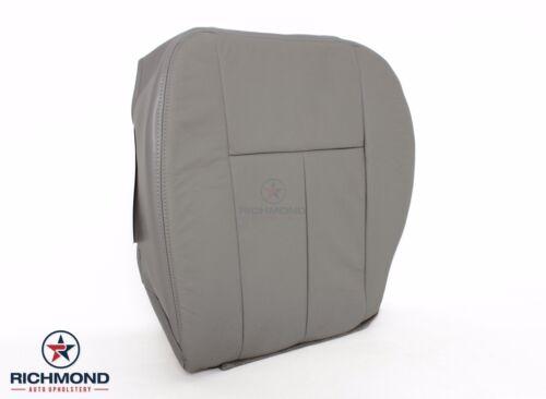 2006 2007 2008 Chevy Trailblazer LT LS Driver Bottom Leather Seat Cover Gray