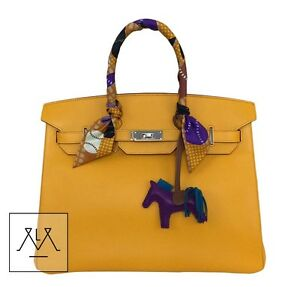 12706cf84c Hermes Birkin Bag 35cm Jaune D Or Yellow Candy Collection Limited ...