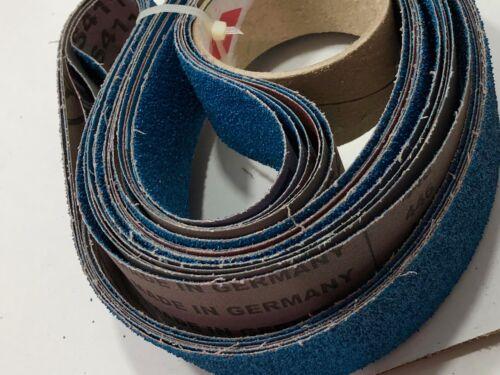 2x72 couteau Makers Grit ponçage ceintures 6 Pack Assortiment Kit