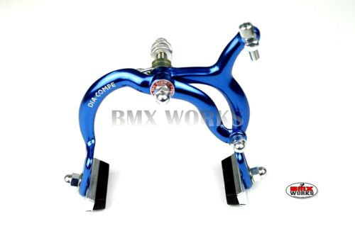 Old School Retro BMX Genuine Dia-Compe MX890 Dark Blue Rear Brake Caliper