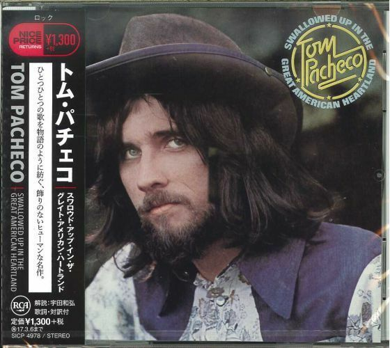TOM PACHECO-SWALLOWED UP IN THE GREAT AMERICAN HEARTLAND-JAPAN CD C41