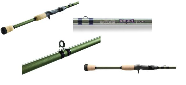 Choice of Assorted Models Croix Mojo Bass Spinning Rods St