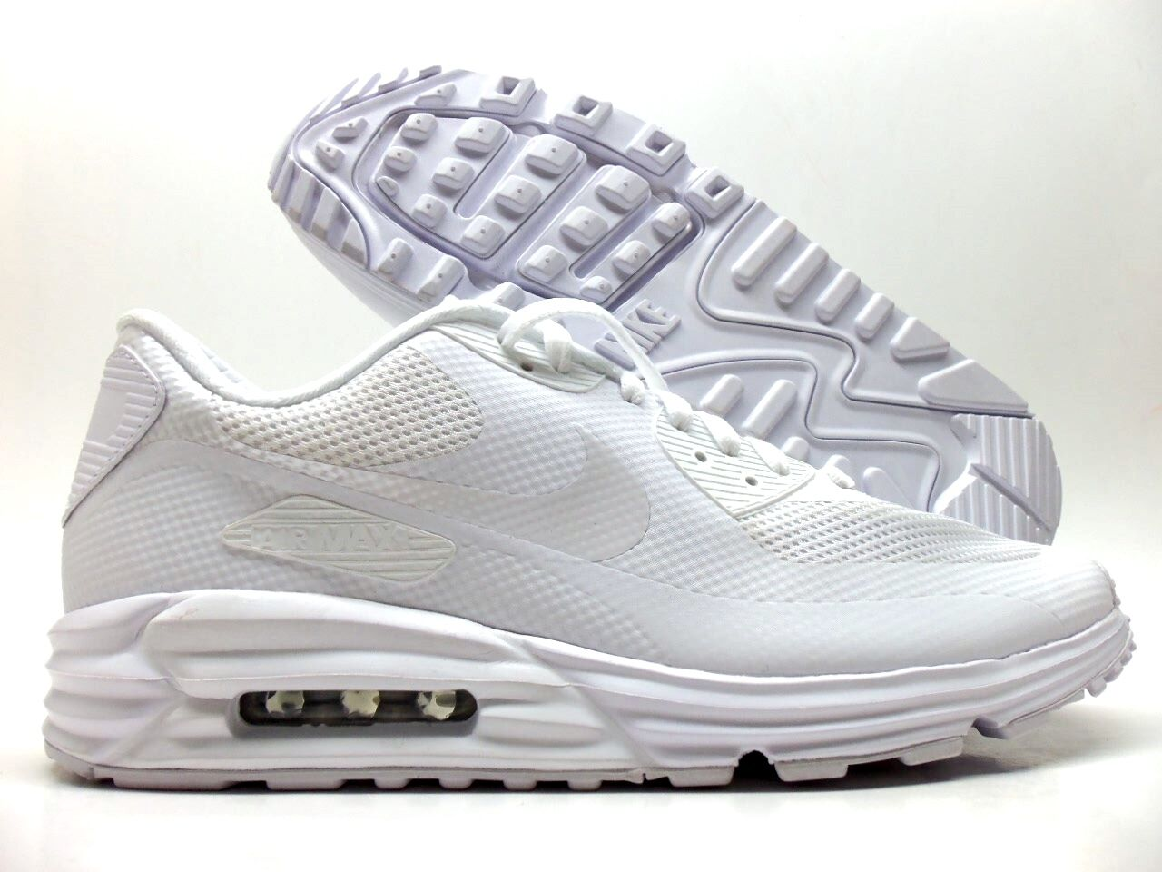 online store 40334 fecac 80%OFF NIKE AIR MAX 90 LUNAR HYPERFUSE PREMIUM ID WHITE SIZE MENS 12