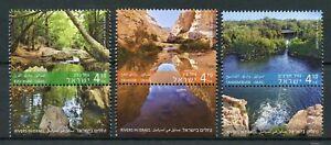 Vente Pas Cher Israël 2015 Neuf Sans Charnière Rivers En Israël Zin Kziv Taninim River 3 V Set Nature Timbres-afficher Le Titre D'origine DernièRe Mode