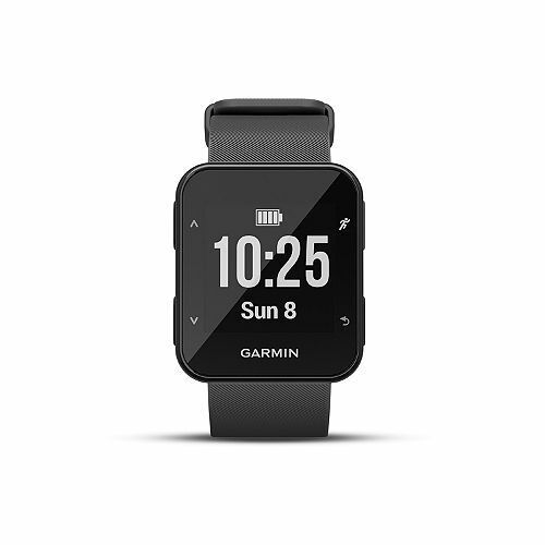 "Smartwatch Forerunner 30 0,93/"" GPS Waterproof 5 ATM Bluetooth Black GARMIN"