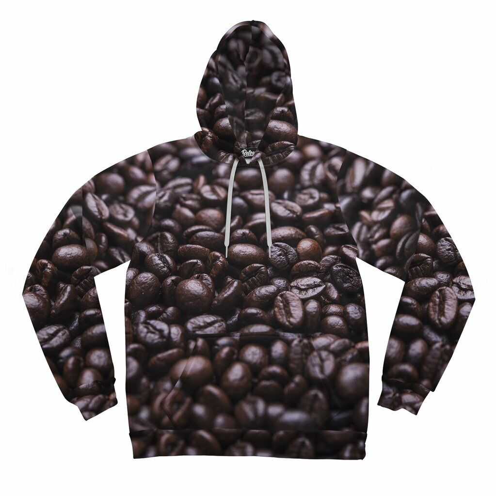BRAND NEW Beloved Shirts COFFEE BEAN JAVA HOODIE SMALL-3XLARGE MADE IN THE USA
