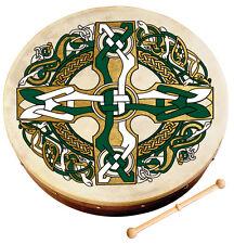 """WALTONS 8"""" Celtic Cross Bodhran (10AWAL-1953) Irish Drum"""