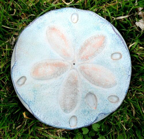 Sand dollar stepping stone mold concrete  plaster casting mould