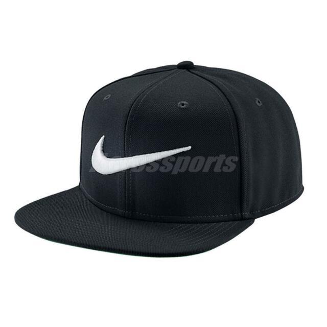... low cost nike swoosh pro black white embroidery mens snapback  adjustable hat 639534 011 67874 d138a ... 76f3d7e8ba94
