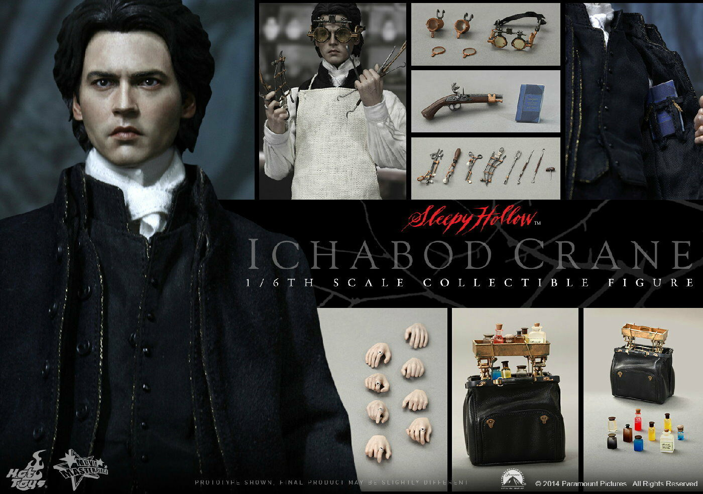 was ichabod crane a real person