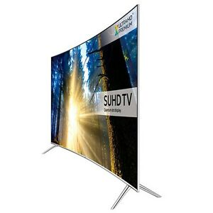 samsung ue49ks7500 smart 4k ultra hd hdr 49 curved led tv ebay. Black Bedroom Furniture Sets. Home Design Ideas