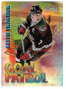 1998-99 Keith Tkachuk O-Pee-Chee Chrome Goal Patrol Refractor - Arizona Coyotes