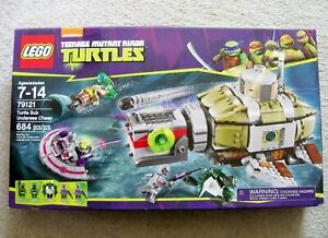 LEGO-TMNT-Rare-Turtle-Sub-Undersea-Chase-79121-New-amp-Sealed