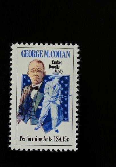 1978 15c George M. Cohan, Performing Yankee Doodle Dand