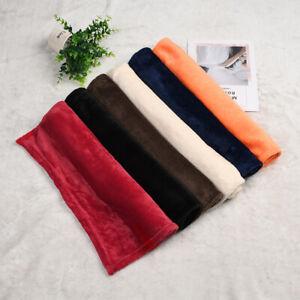Coral fleece Towel Warm Fluffy Reversible Microfiber Sofa Bed Towel 50x70cm 1pc