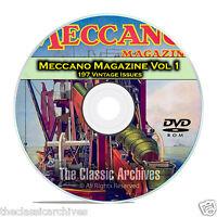 Meccano Magazine Volume 1, 197 Vintage Issues, Boy Hobby Magazine Dvd Cd C14