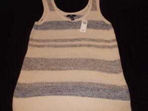 Gap-Womens-Sleeveless-Summer-Tank-Sweater-Stripe-39-99-NWT