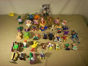 Huge Lot Vintage Happy Meal Toys Mcdonalds Cartoons Disney 80s 90s