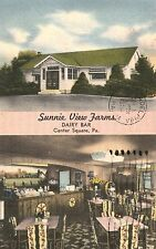 Sunnie View Farms Dairy Bar on Route 202 in Center Square PA 1959