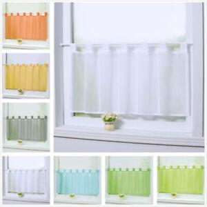 Details zu Gardinen Küche Scheibengardinen Fenstergardine Bistrogardine  Modern Transparent