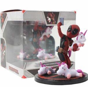 Avengers-Deadpool-Action-Figure-Deadpool-Funny-Unicorn-Selfie-Painted-Figure