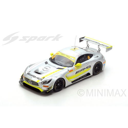 MERCEDES GT3 N.48 WINNER FIA GT WORLD CUP MACAU 2017 E.MORTARA 1:18 Spark Model