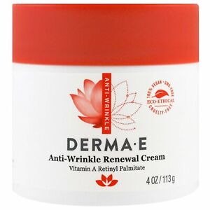 Derma-E-Anti-Wrinkle-Renewal-Cream-4-oz-113-g-Cruelty-Free-EcoFriendly