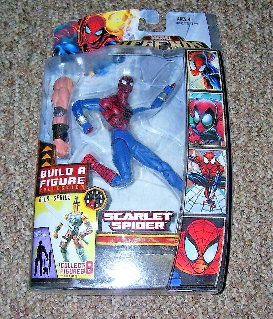 Scarlet Spider 6  action figure 2008 HASBRO MARVEL LEGENDS VHTF spider-man