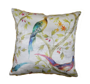 Voyage-Lachlan-Ivory Velvet Cushion Cover Pillow Throw SUPERBE