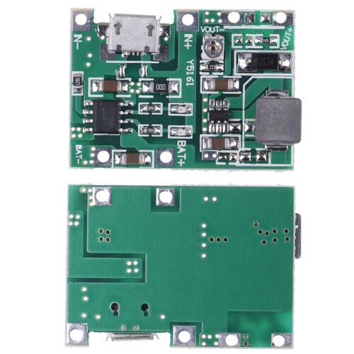 USB lithium lipo 18650 battery charger 3.7V 4.2V to 5V 9V 12V 24V step up BLUS Z