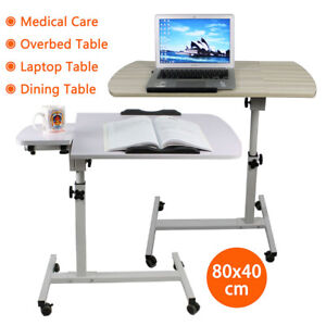 Overbed-Table-Medical-Care-Over-Bed-or-Chair-for-meals-laptop-work-study-80cm-W