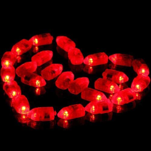 50 X wasserdichtes LED Licht für Papierlaternen Ballon Hochzeitsfest Dekoration
