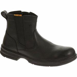 Black Cat Mens Boots Footwear Inherit Pull On St Sd