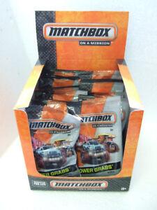 MotivéE Rare Matchbox Power Tombe 1x La Boîte De Présentation Incl .11 2015 Models #1-11 Dans Closed Bag-afficher Le Titre D'origine