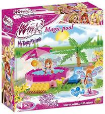 bricks  blocks Toys cobi Winx Magic pool  80 pcs bricks 25082 good as Lego doll
