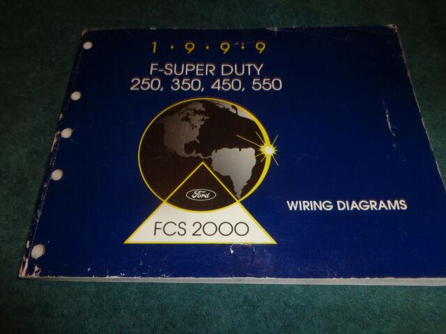 1999 FORD SUPER DUTY TRUCK WIRING DIAGRAM SHOP MANUAL ...