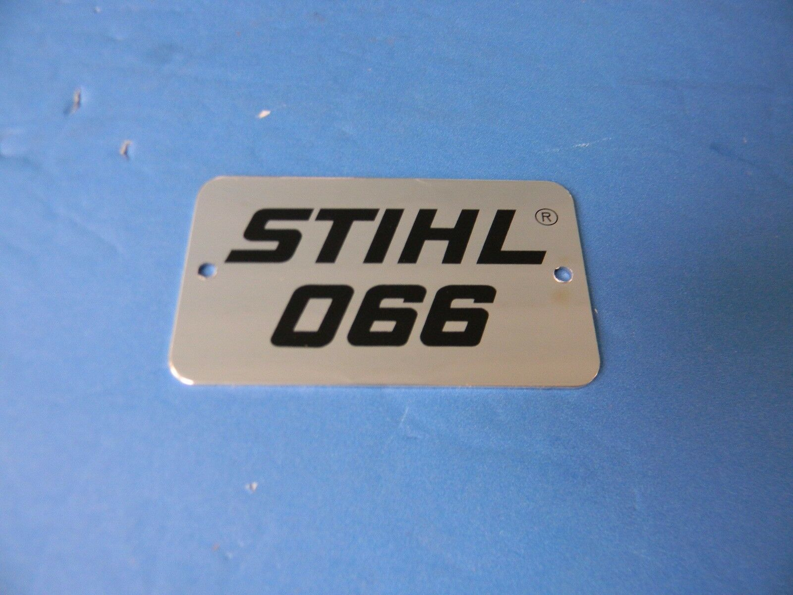 STIHL MS440 MAGNUM CHAINSAW MODEL PLATE NAME TAG EMBLEM BADGE DECAL STICKER SET