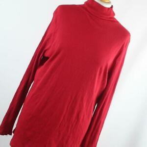 George-Womens-Size-20-Red-Plain-Cotton-Basic-Tee