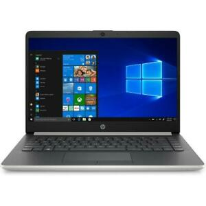 HP 14 Series 14  Laptop AMD A4 4GB RAM 64GB eMMC Natural Silver