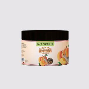 Scrub Esfoliante Viso & Corpo bava di lumaca - albicocca 500ml Face Complex
