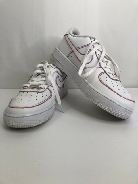 Nike Air Force 1 Low White White Shoes 314192-117 Boys Girls Youth Size 6.5Y
