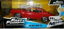 Fast & Furious 7 Dom's Chevy Chevelle SS Diecast Car 1:24 Jada Toys 8 inch Red