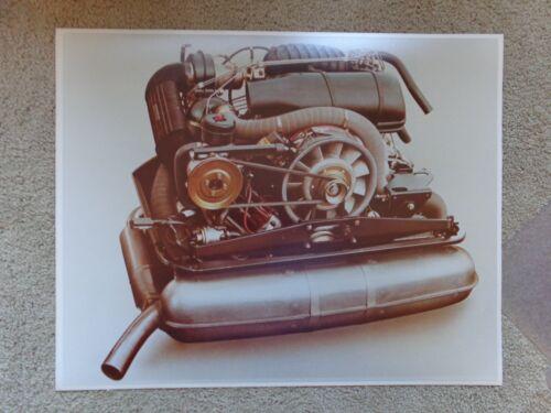 Porsche Vintage 911 SC 1978 1979 1980 1981 ENGINE Cut Away 20 x16 Photo Original