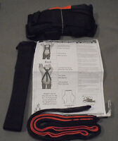 Primal Vantage Model 2014 Full Body Harness Components 300-lb Limit
