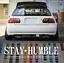 Stay-Humble-JDM-japanese-oil-slick-vinyl-graphics-decal-windshield-sticker miniature 1
