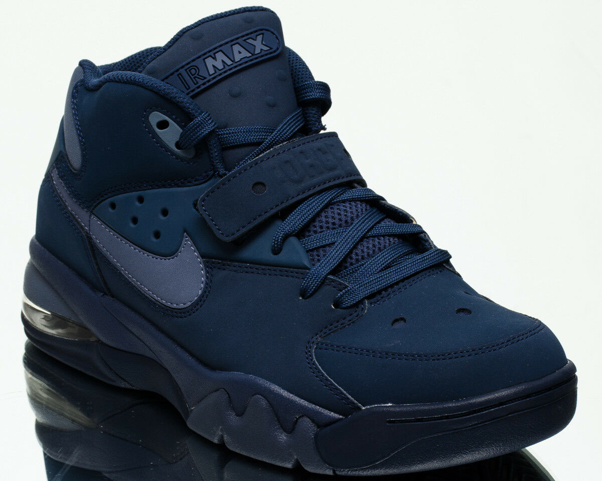 Nike Air Force Max men lifestyle sneakers new navy diffused bluee AH5534-400