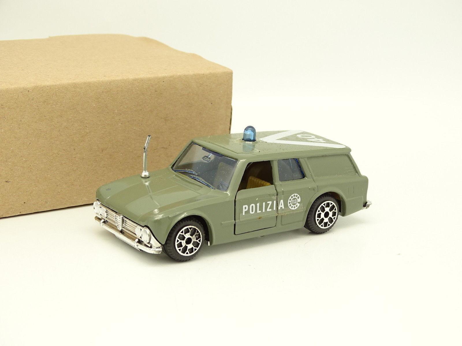Polistil 1 43 - alfa romeo giulia polizia combinata