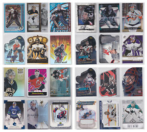 Goalie-Numbered-Insert-Parallel-SP-RC-Rookie-NHL-Hockey-You-Choose