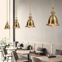 Vintage Metal Porthole Nautical Industrial Searchlight Ceiling Pendant Light